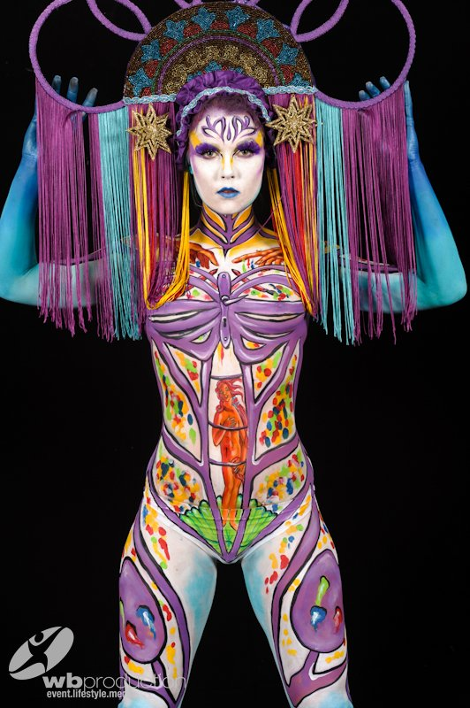 World Bodypainting Festival 2014 Lynn Schockmel Body Art