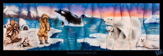 multi body painting antarctic lynn schockmel